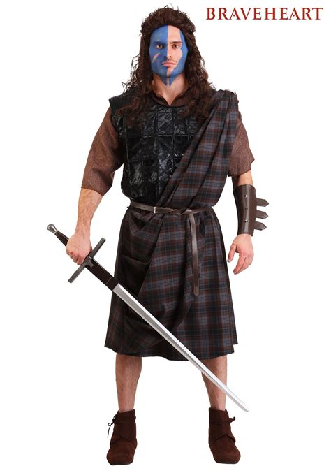 Braveheart Classic Costume Men's