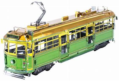 Tram Melbourne Class Metal Earth Trams Fascinations