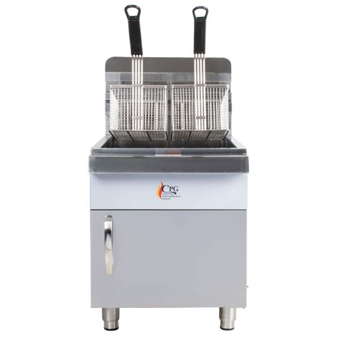 Countertop Fryers by Cooking Performance Cf30 30 Lb Gas Countertop Fryer