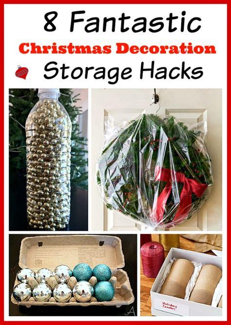 christmas decoration storage hacks budget organizing ideas