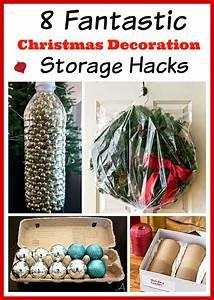 Christmas, Decoration, Storage, Hacks