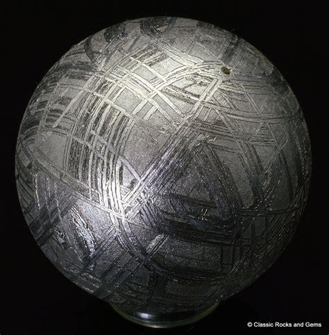 muonionalusta etched meteorite sphere widmanst 228 tten 28 6mm