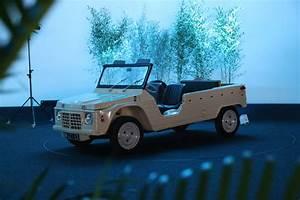 Citroen Mehari 2016 : citro n e mehari 2016 d cryptage design du cabriolet lectrique photo 8 l 39 argus ~ Gottalentnigeria.com Avis de Voitures