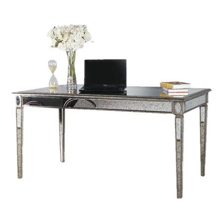lusetta desk at joss eclectic glam home