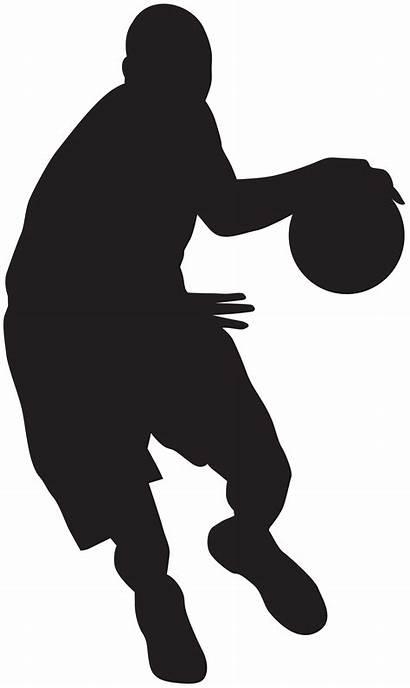 Basketball Player Silhouette Clipart Clip Transparent Boy