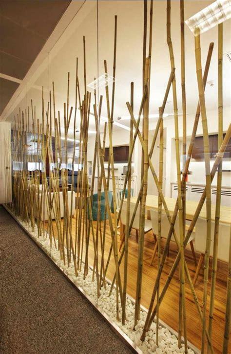 mur de bambou exterieur du bambou d 233 co pour un int 233 rieur original et moderne 224 d 233 couvrir