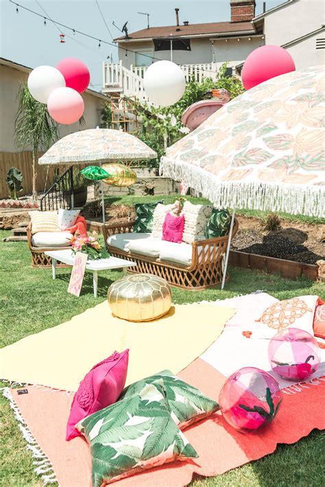 bay area girl birthday party theme birthday party ideas kara 39 s party ideas tropical birthday party kara 39 s party