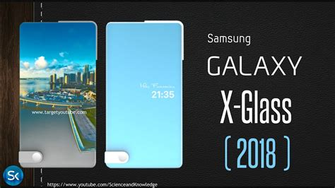 Samsung Galaxy X Glass Incredible Bezelless Concept