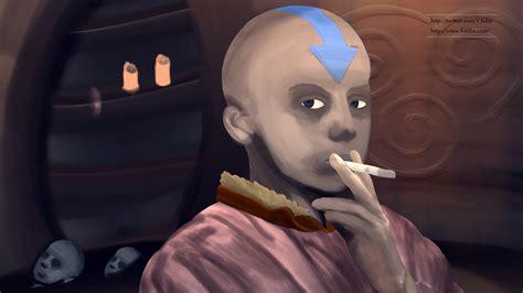 avatar aang painting veldin