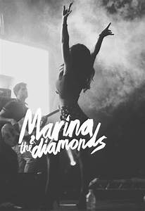 Themm!! | Marina and the diamonds, Calligraphy design
