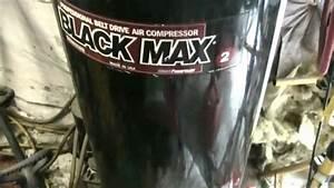 Operation   New Air Compressor Part 1   Rip 2001 Black Max