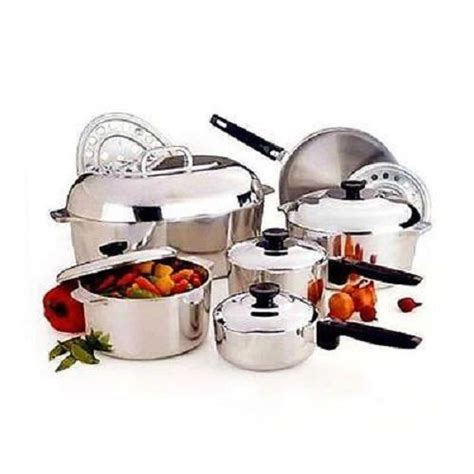 magnalite aluminum cookware set pc cast kitchen pantry cooker tools durable classic cookware