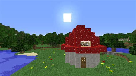mushroom hut updated   creation