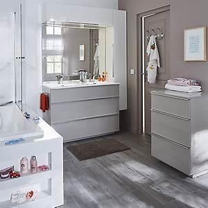 Meuble Rangement Salle De Bain But : meuble de salle de bains castorama ~ Dallasstarsshop.com Idées de Décoration