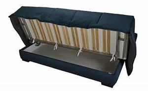 Canape coffre rangement maison design wibliacom for Tapis persan avec canape cuir clic clac