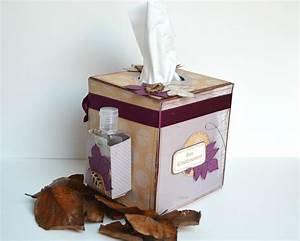 Boite Mouchoir Deco : boite de mouchoirs customis e scrap et d co de tables ~ Melissatoandfro.com Idées de Décoration