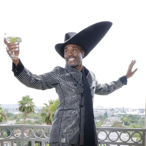Billy Porter Historic Emmy Award That Hat