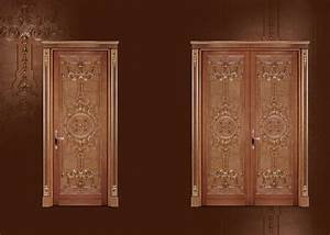 Portas Türen Preise : geschnitzte t r zum wohnzimmer in klassischen luxus stil ~ Lizthompson.info Haus und Dekorationen