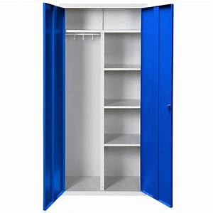 Petite Armoire Penderie : armoire penderie metallique ~ Preciouscoupons.com Idées de Décoration