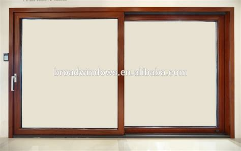 wood clad aluminum lift sliding glass door for home from