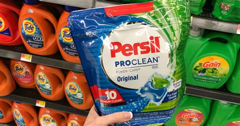 high   persil proclean laundry detergent coupons
