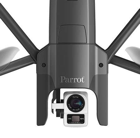 parrot anafi thermal drone verydrone