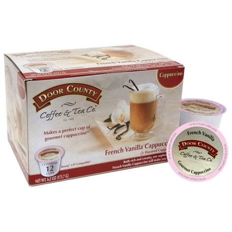 There are hundreds of different options when you're trying to figure out the best keurig coffee pod. Door County K-Cup Coffee Pods, French Vanilla Cappuccino, 12 Count For Keurig Brewers - Walmart ...