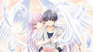 Anime Angel Girl And Boy Wallpaper