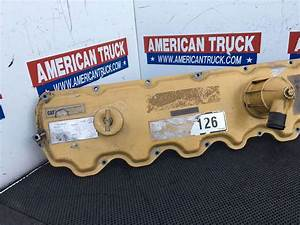 Used Cat 3126 Engine Valve Cover With Oil Fill Hole And