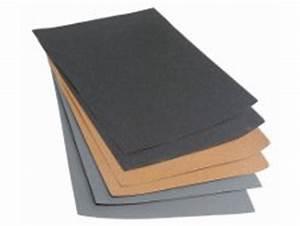 Papier Abrasif Carrosserie : tout savoir sur les papiers de verre abrasifs leroy merlin ~ Melissatoandfro.com Idées de Décoration