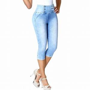 Lowla Capri 239257 | Jeans Colombianos Levanta Cola con Faja Interna - Shapes Secrets