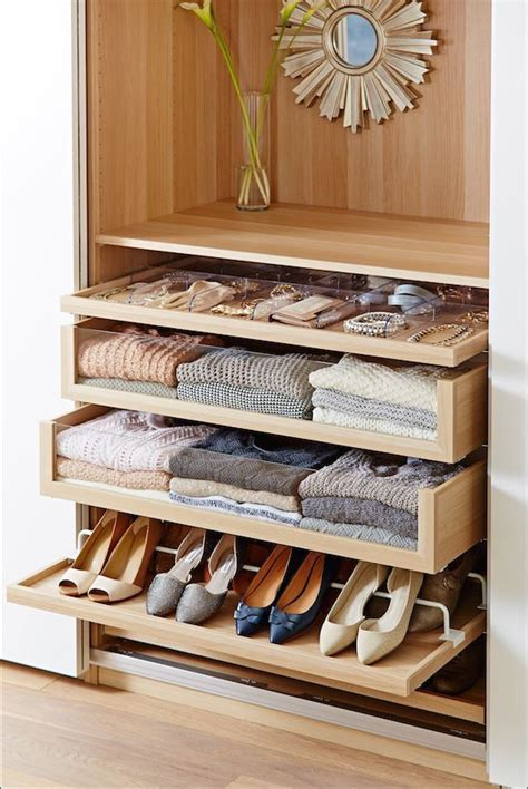 Wardrobe Closet With Drawers by Komplement Glass Front Drawers For Ikea Pax Closet System