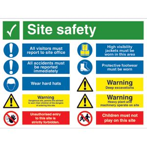external construction sign archer safety signs