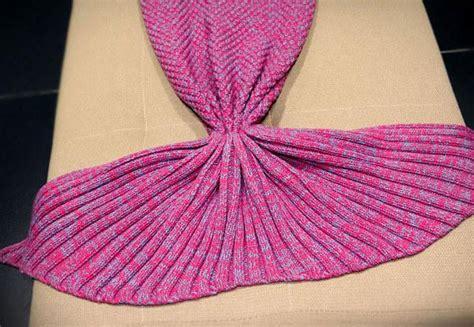 knitted mermaid tail blanket grabone nz