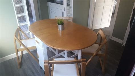 Kitchen Table And Chairs Gumtree Tyne And Wear by Debenhams Space Saving Kitchen Dining Table With Folding