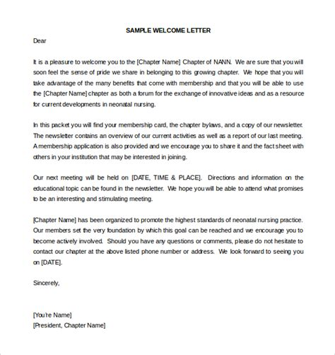 printable  employee  letter template