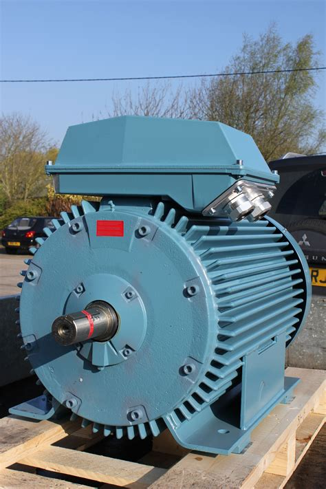 Electric Motor Safety by Abb Motor Arrives At Gibbons For A Rewind Repair
