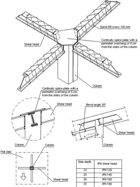 Construction details. CYPE. FIL748: Steel column details
