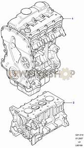 Complete Engine - 2 4 Tdci