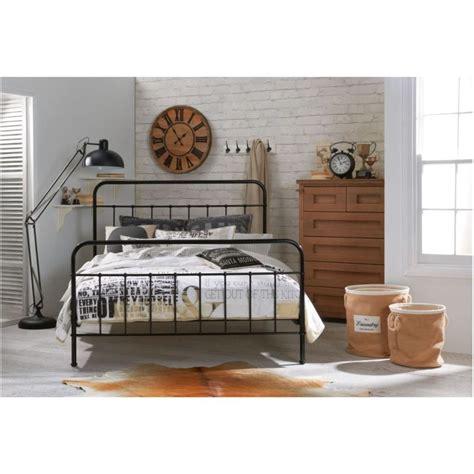 Black Bed Frames For Sale by Cumberland Size Metal Bed Frame In Black Buy