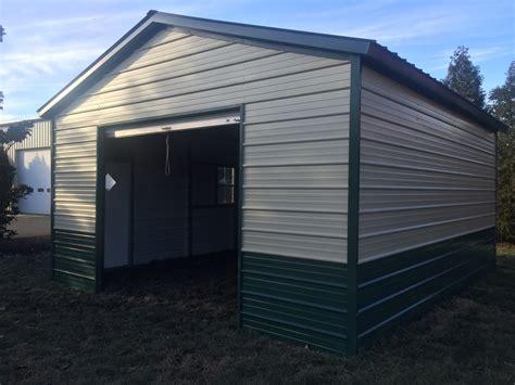 Metal Carports & Garages  Better Built Storage Buildings