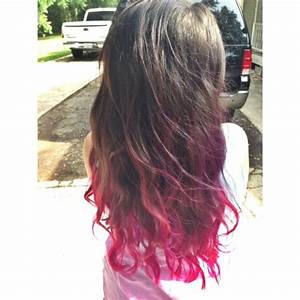pink ombre on Tumblr