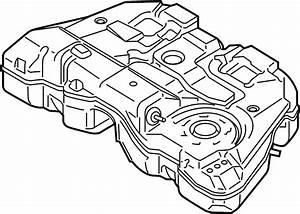Ford Fusion Fuel Tank  Liter