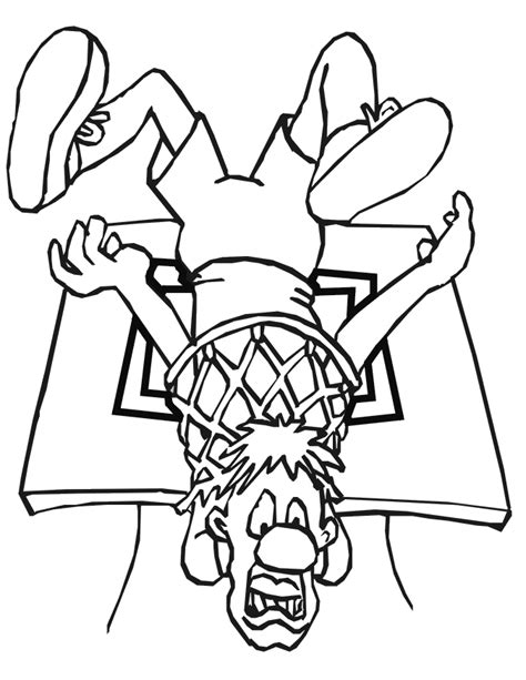 basketball coloring pages  jpeg png