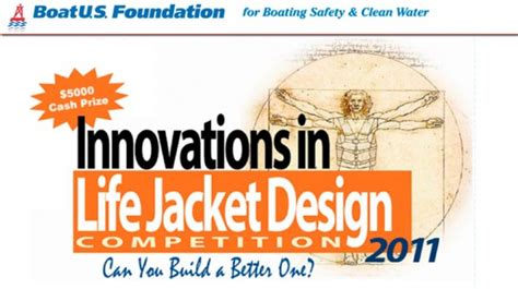 Boat Us Foundation by Boatus Announces Lifejacket Design Competition New