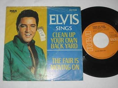 Elvis Clean Up Your Own Backyard by Elvis Clean Up Your Own Back Yard 1 Usa 1976