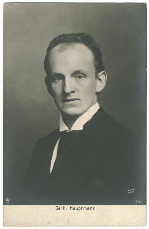 gerhart hauptmann wikiquote