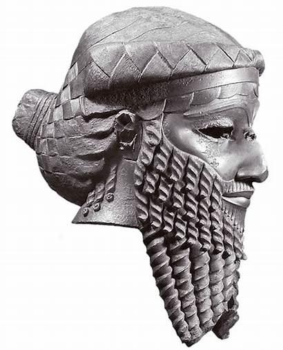 Sargon Akkadian Empire Akkad Head Bronze Artifacts