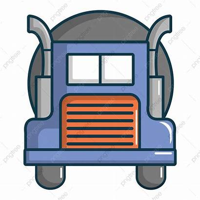 Truck Cartoon Tanker Oil Icon Vector Tank