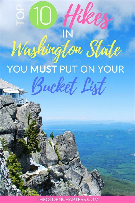 washington state hikes road hiking trip trails trips theoldenchapters national parks